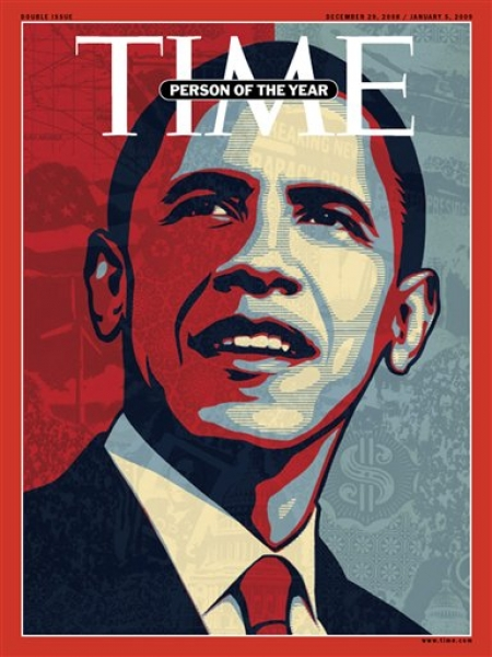Person of the Year? As opposed to alien?