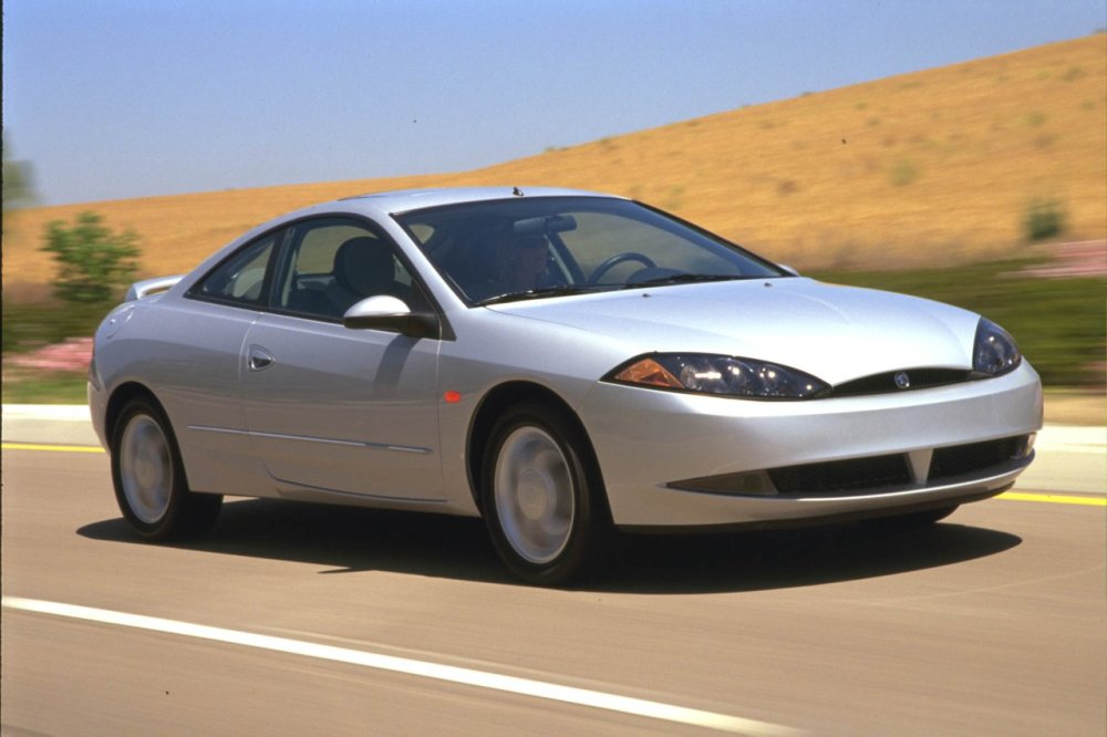 2000 Mercury Cougar, as opposed to middle-aged divorcees that crave strapping young lads - that would be the 2009 Mercurial Cougar.