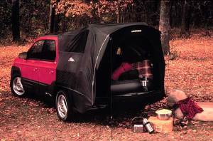"Pontiac Aztec, with ""tent"" feature"