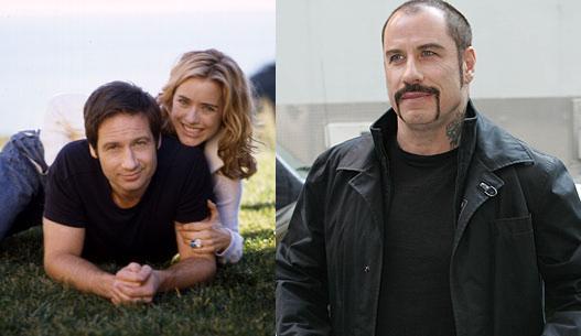 It's a D.L.T. (Duchovny + Leoni + Travolta)