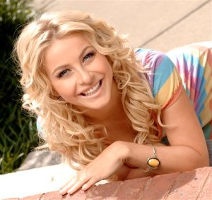 "Julianne Hough of ""Dancing With My Heart"""
