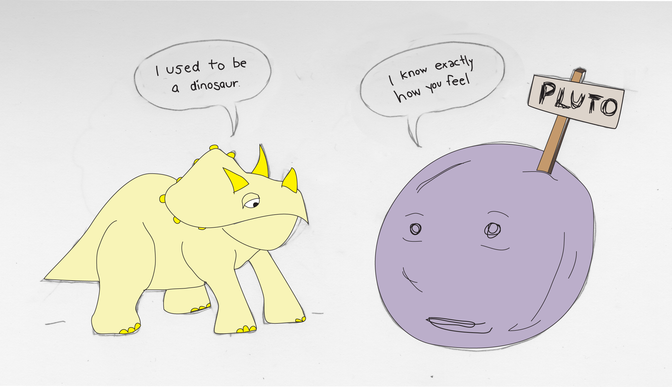 Pluto by Omicron- on DeviantArt  Pluto Planet Drawing