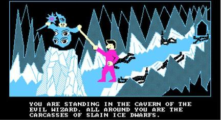 cavern of the evil wizard
