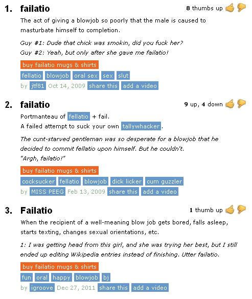 Urban dictionary giving head